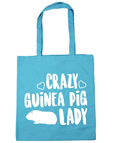 x38cm Surf Crazy litres Shopping lady Blue guinea 42cm Gym pig Tote HippoWarehouse 10 Bag Beach vqpFxwAA