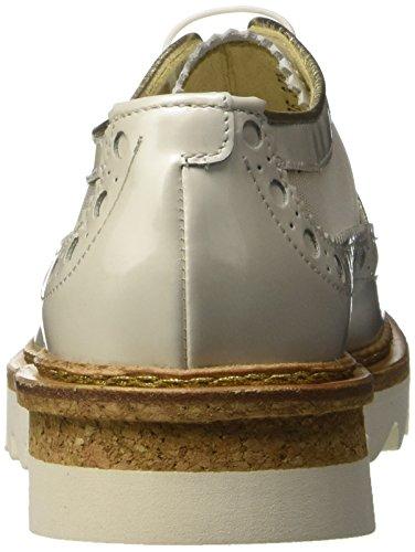 Barracuda Bd0606 - zapatos - Derby Mujer Bianco