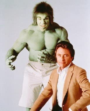 Bill Bixby as Dr David Banner The Incredible Hulk Poster