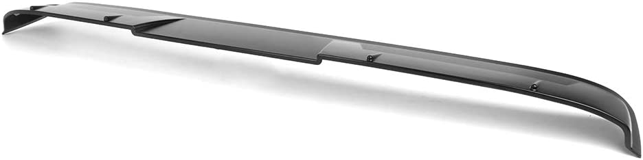 Compatible With 2018-2020 Toyota Camry V2 Style Roof Spoiler Matte Black Primer ABS By IKON MOTORSPORTS