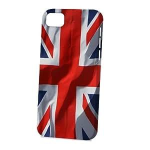 Case Fun Apple iPhone 5C Case - Vogue Version - 3D Full Wrap - Union Jack Flag