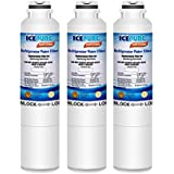 ICEPURE DA29-00020B Replacement Refrigerator Water Filter, Compatible with Samsung DA29-00020B, DA29-00020A, HAF-CIN/EXP, HAF-CIN, DA97-08006A, Kenmore 469101 [Pack of 3]