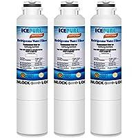 Icepure DA2900020B Refrigerator Water Filter Compatible with Samsung DA2900020B, DA2900020A,HAF-CIN EXP,469101(3 PACK)