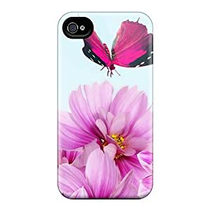 Perfect Pink Flowers For Fall Cases Covers Skin For Iphone 6 Phone Cases