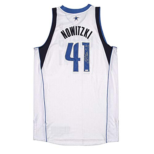 Dirk Nowitzki Autographed Game Worn Jersey from the 2011-2012 NBA Season ~Limited Edition 1/1~ - Panini Authentic - Panini Certified