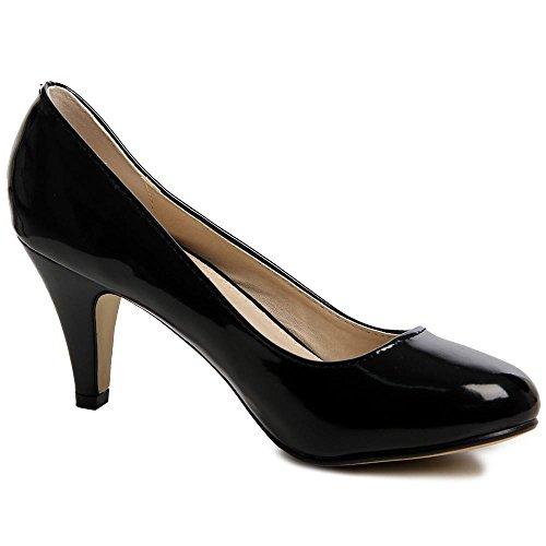 topschuhe24 - Zapatos de vestir de otros para mujer Negro - negro