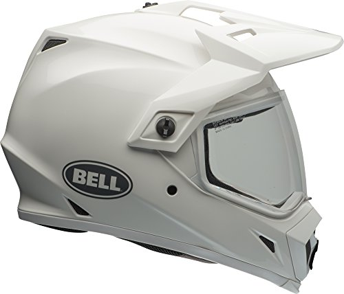 Velocity Off Road Helmet (Bell MX-9 Adventure MIPS Offroad Helmet - Gloss Solid White - X-Large)