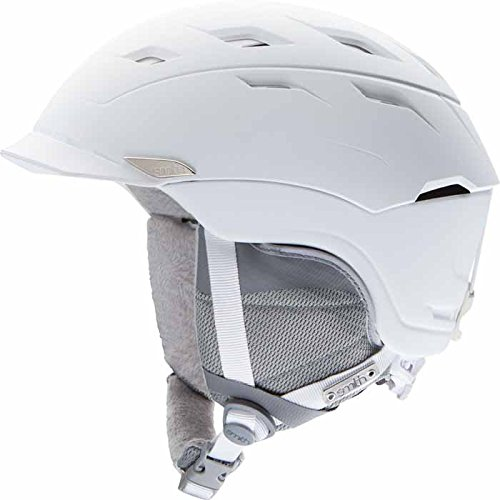 Smith Optics Valence Women's Ski Snowmobile Helmet , Matte White , Large