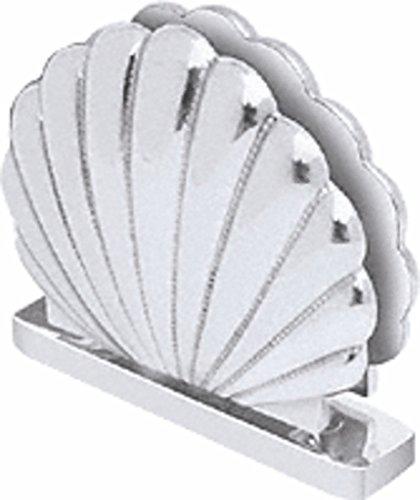 (CRL Shell 001 Series Satin Chrome Top or Bottom Mount Hinge)