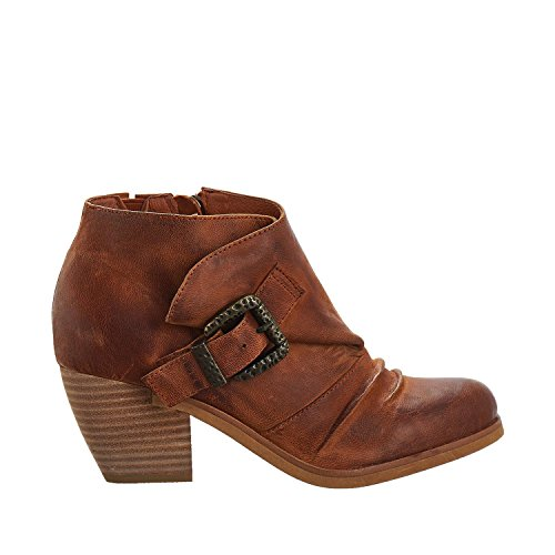 Antelope Womens 673 Leather Ankle Boots Tobacco OZwsR