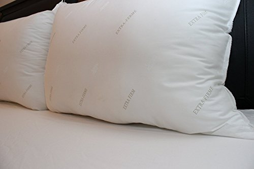 Set of 2 Hypoallergenic Fiberfill Extra Firm Pillows - Standard - Buy Online in UAE. Products ...