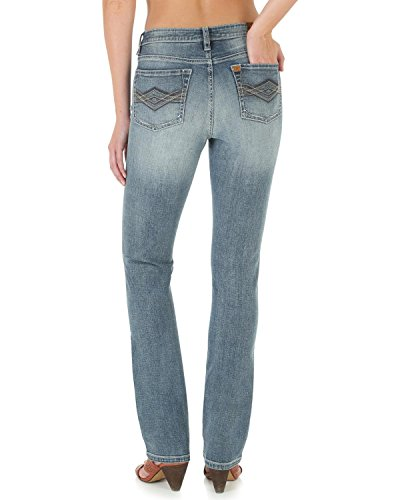 Instantly Slimming Jean (Wrangler Women's Instantly Slimming Jean, Medium Blue, 8 Short)