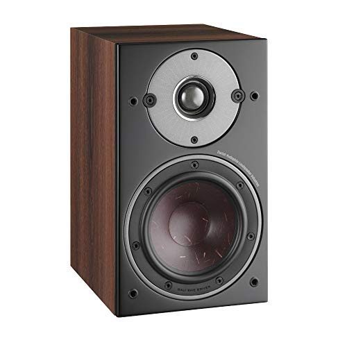 Dali Oberon 1 Bookshelf Speakers in Dark Walnut (Pair)
