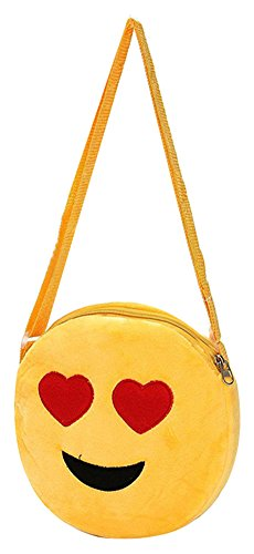 Kids Mini Emoji Purse  with Shoulder Strap