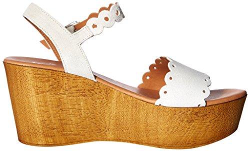 White Chrysler Wedge Sandal Women's Matisse HI5q1A