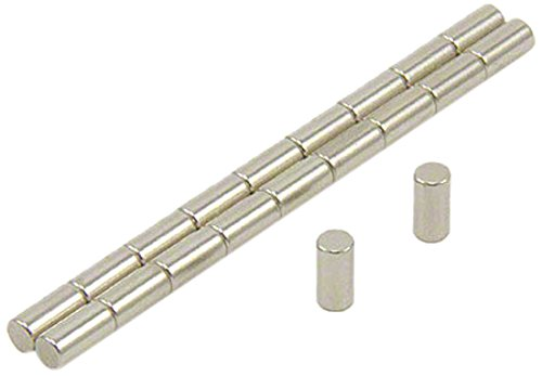 pack de 20 0,39kg force dadh/érence Magnet Expert/® 3mm diam/ètre x 6mm N42 n/éodyme aimant