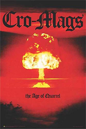 WP Cro-Mags The Age of Quarrel 24x36 inch Music Poster NYHC