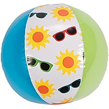 Inflates Toys Birthday Very Hungry Caterpillar Beach Ball for Birthday 12 Pieces Fun Express Beach Balls