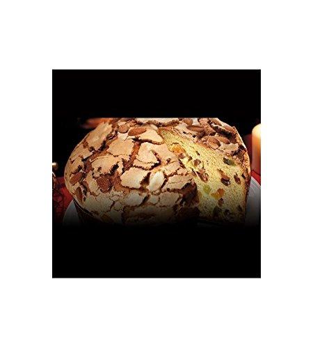 Bonifanti - Panettone artesanal tradicional con glaseado de almendras y avellanas 1kg: Amazon.es: Alimentación y bebidas