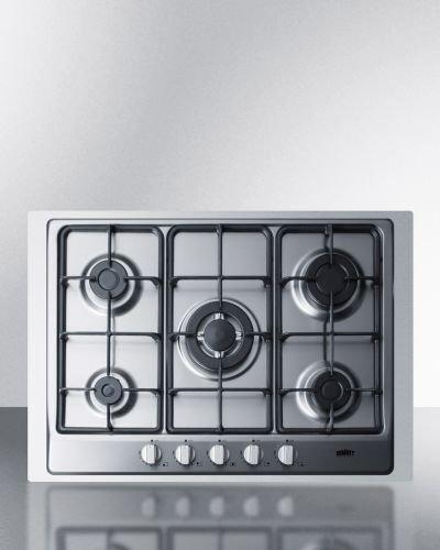 gc527sstk30 5 burners gas cooktop
