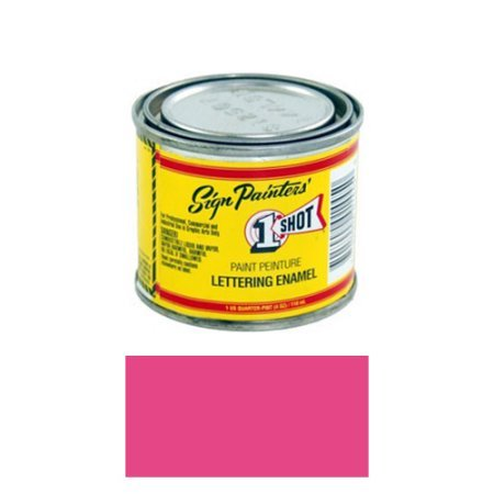 1/4 Pint 1 Shot Magenta Paint Lettering Enamel Pinstriping & Graphic Art