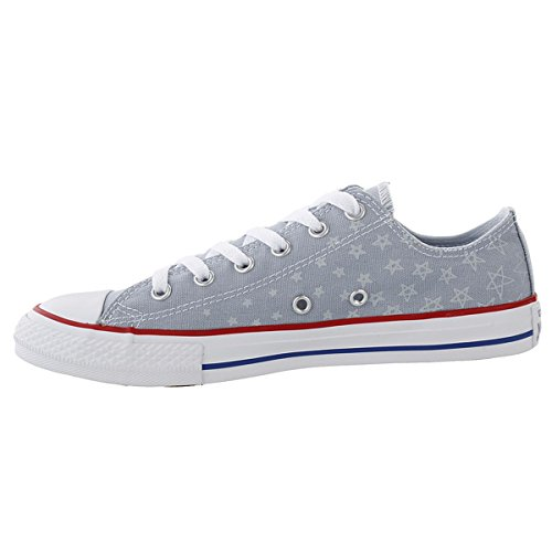 Converse Youth Chuck Taylor All Star Ox Canvas Trainers Grey