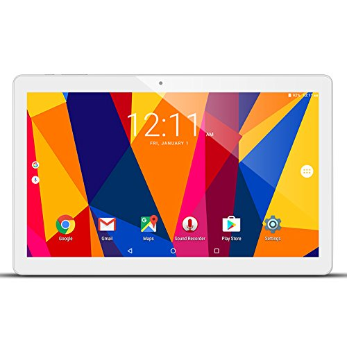 ALLDOCUBE iPlay10 / U83 10.6 inch 1920 x 1080 IPS Display Screen Tablet, Cube Android 6.0 Tablet Quad Core MTK MT8163 64-bit 1.3Ghz, 2GB+32GB, Support 5Ghz + 2.4Ghz WiFi and HDMI Output, White Silver by ALLDOCUBE (Image #9)