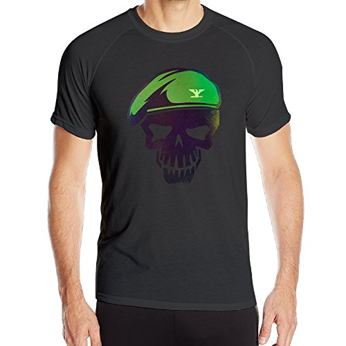 PTR Men's Breathable Suicide Squad Training Tee ShirtsShort Sleeves T-Shirts Size XXL (Poison Ivy Makeup Ideas)