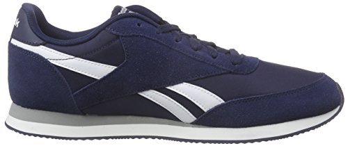 Uomo Navy Blu Jogger White Grey 2 Sneakers Reebok Baseball Royal Cl Collegiate w8cq4cBXH
