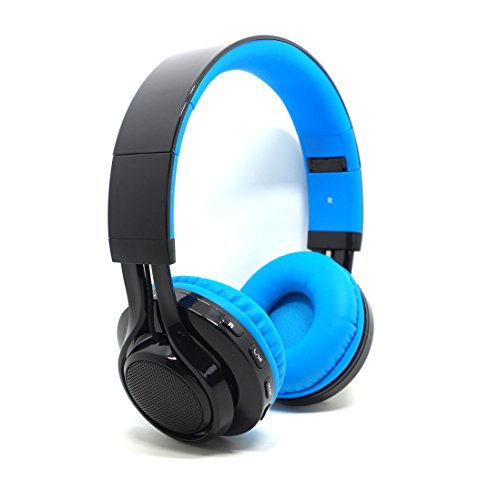 Bluetooth On-ear Headphone,Stereo Surround Wireless Bluetooth Headphones with LED Lights, Headset Support...
