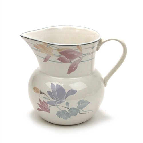 Tender Bloom by Studio Nova, Stoneware Water (Sterling Water Pitcher)