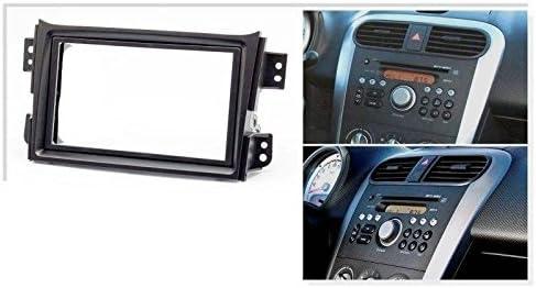 Sound Way 2 Din Autoradio Radioblende Radiorahmen Iso Verbindungskabel Antennenadapter Kompatibel Mit Opel Agila Suzuki Splash Ritz Auto