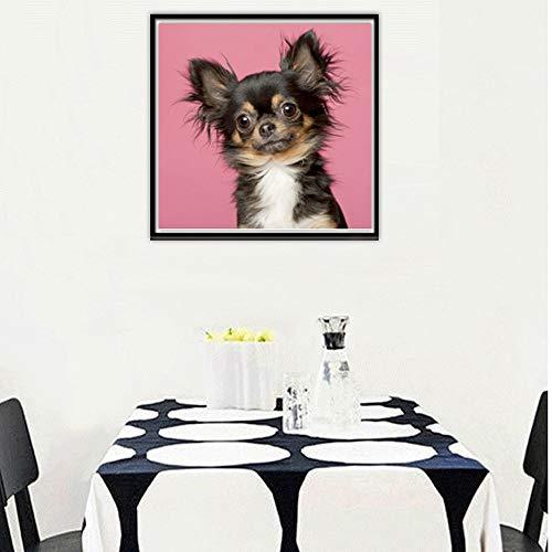 5D Diamond Painting Rhinestone Puppy Chihuahua Cute Embroidery