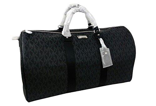 Michael Kors Travel Duffel Bag Black (35T6STFU4B) by Michael Kors