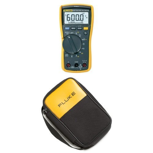 Fluke 117 Electricians True RMS Multimeter with Polyester...