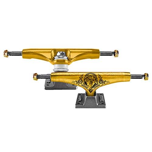 城登る追うサンダー (Thunder) TYSHAN PEDIGREE TEAM HOLLOWS LIGHT GOLD 147HI サンダー スケボー トラック スケートボー
