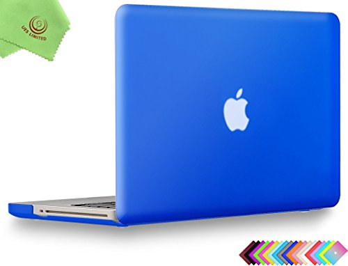 Case Hardshell Frosted - UESWILL Smooth Soft-Touch Matte Frosted Hard Shell Case Cover for MacBook Pro 15