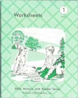 Worksheets grade 1 unit 1 Bible Nurture and Reader Series ...