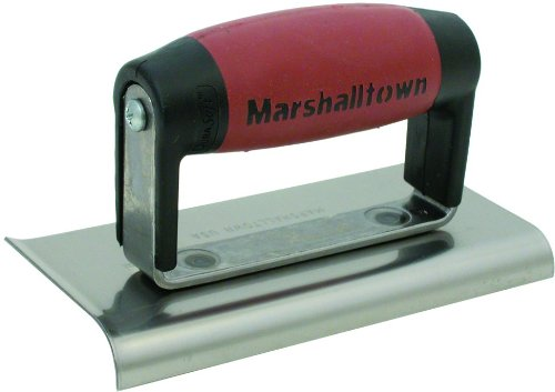 MARSHALLTOWN The Premier Line 176D 6-Inch by 3-Inch Edger with DuraSoft Handle