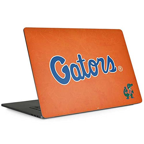 Florida Gators Laptop - Skinit University of Florida MacBook Pro 13-inch with Touch Bar (2016-18) Skin - Florida Gators Orange Design - Ultra Thin, Lightweight Vinyl Decal Protection
