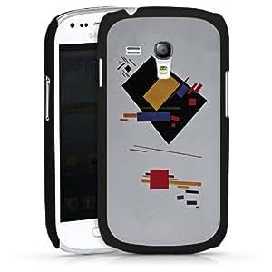 Carcasa Design Funda para Samsung Galaxy S3 Mini I8190 HardCase black - Suprematist Composition