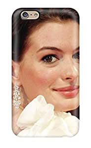 High Grade Renita J Taylor Flexible Tpu Case For Iphone 6 - Anne Hathaway Christmas