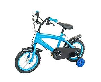 Reke - Bicicleta Infantil (12 Pulgadas), Color Azul: Amazon.es ...