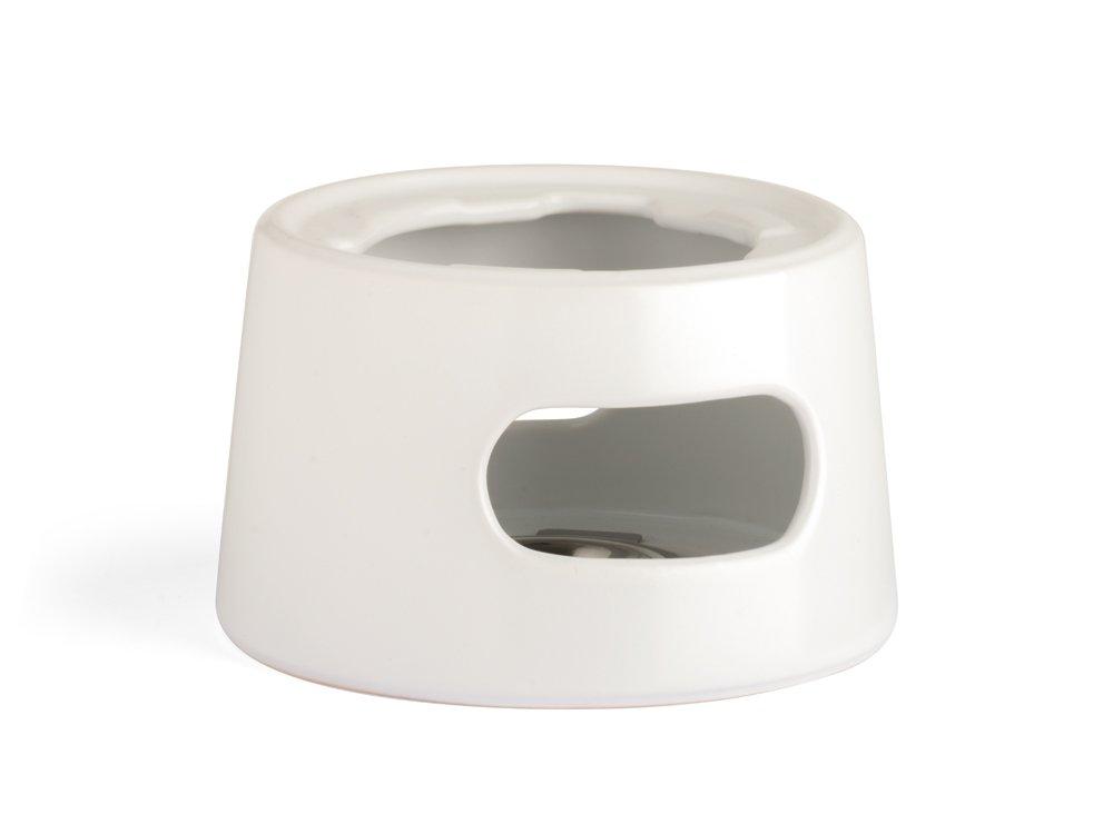 Bredemeijer Tea warmer Lund, white, Ceramic, 14.5 x 14.5 x 9 cm