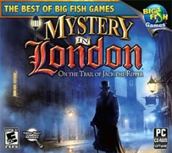 Mystery In London On The Trail Of Jack The Ripper Computer Software Game