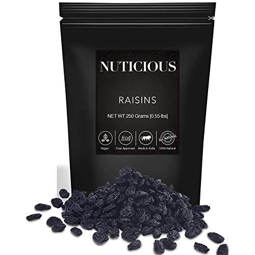 NUTICIOUS Gourmet Foods Premium Quality Raisins (Kishmish) – 250 gm