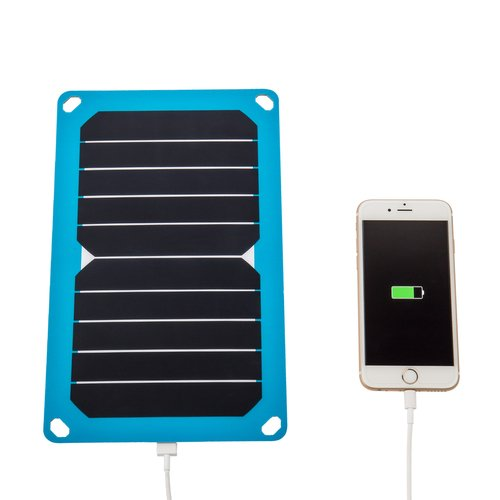 Renogy E.FLEX5 Portable Solar Panel with USB Port Cell Phone Charger