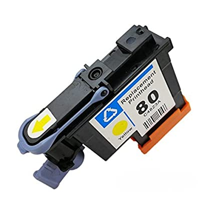 Caid 1x Compatible cabezal de impresión para HP 80 compatible para ...
