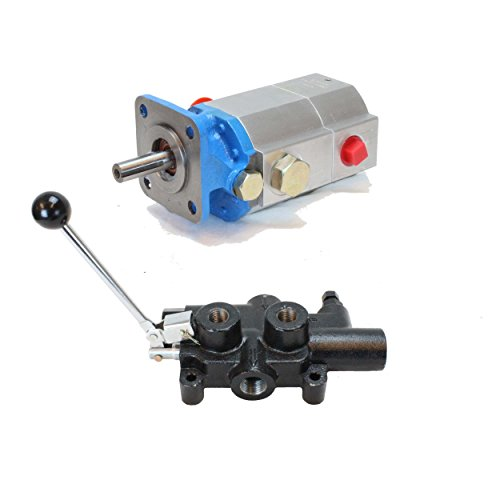Aluminum Gear Pump (11 GPM GEAR PUMP & 25 GPM VALVE COMBO KIT)