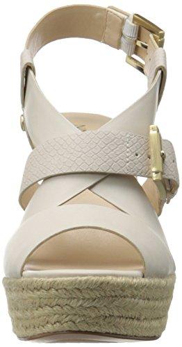Nine West mujer jentri sintético sandalias de cuña Off White/Off White